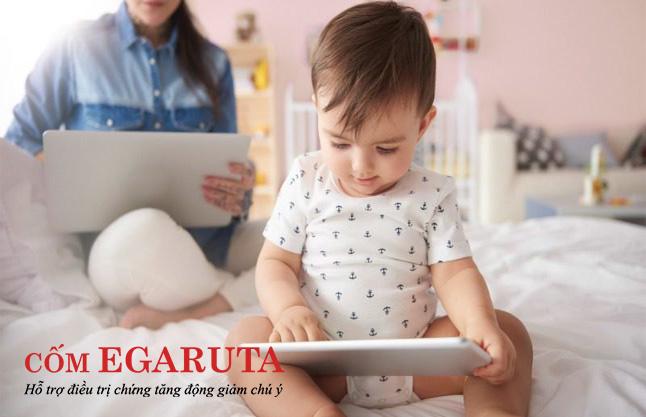 Trẻ dưới 18 tháng tuổi hãy nói KHÔNG với thiết bị điện tử